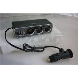 ROZGAŁĘŹNIK GN.ZAPAL.X3+USB SA09276