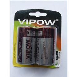 BATERIE VIPOW GREENCELL R20 BLIST.