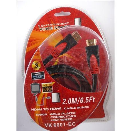 KABEL HDMI VK6001-EC 2M