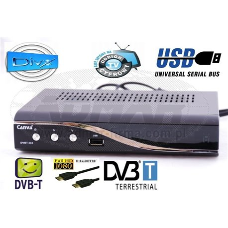 TUNER DVB-T CANVA-333