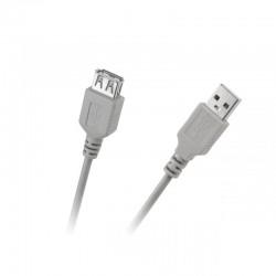 KABEL USB TYP A WTYK-GNIAZDO 1,8M - KPO2783-1.8