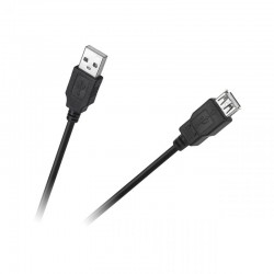 KABEL USB WTYK-GNIAZDO 1,5M ECO-LINE - KPO4013-1.5