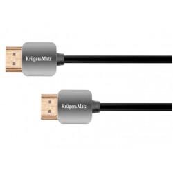 KABEL HDMI-HDMI 1.8M 4K [Kruger & Matz] - KM0329