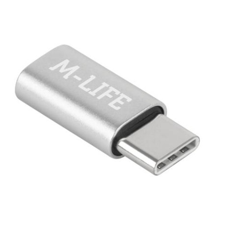ADAPTER MICRO USB-USB TYP C [M-Life] - ML0850