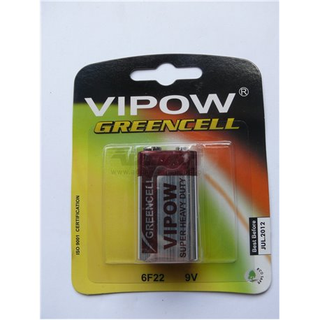 BATERIE VIPOW GREENCELL 9V BL.