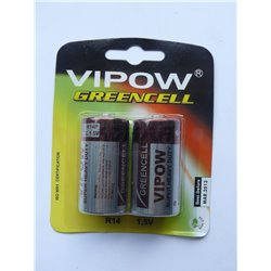 BATERIE VIPOW GREENCELL R14 BLIST.