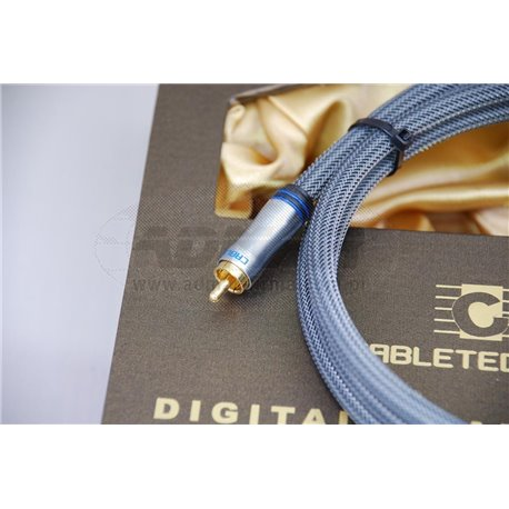 KABEL CINCH-CINCH COAXIAL 1,8GOLD EDITION