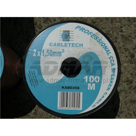 KABEL GŁOŚNIKOWY CCA 1,5mm