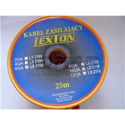 KABEL ZASIL.6GA/8MM